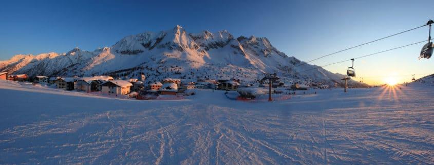 Studenten skireis après-ski
