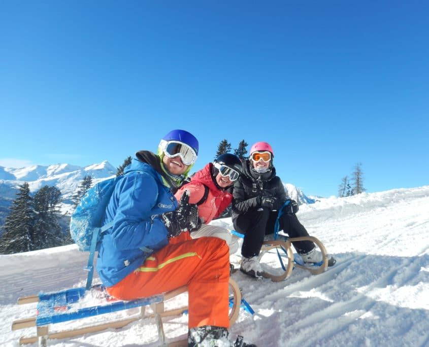 Skiën op Groove-X skikamp