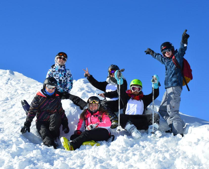 groepsreizen skivakantie