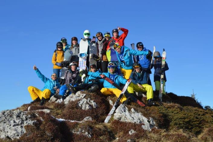 skikamp jongeren groepssfeer