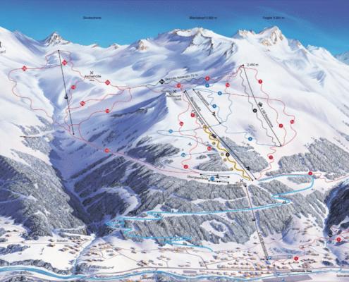 See skigebied jongeren Inschgl