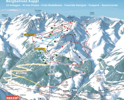Kappl Skigebied jongeren Ischgl