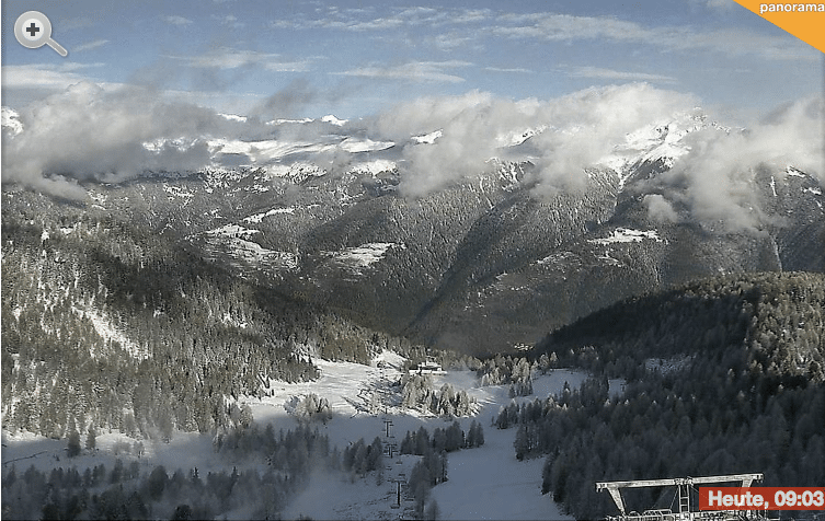sneeuw in val di sole