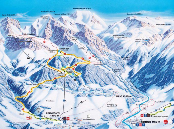 Jongeren skivakantie Pejo Val di Sole Ski