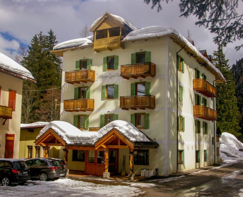 Hotel Zanella 3 sterren op onze Groove-X Studenten Skivakantie tijdens krokus