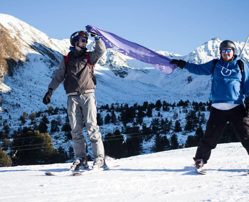 Kristof weyn - skien met de vlag van groovex