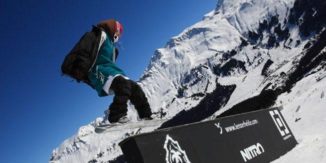 jongeren wintersport
