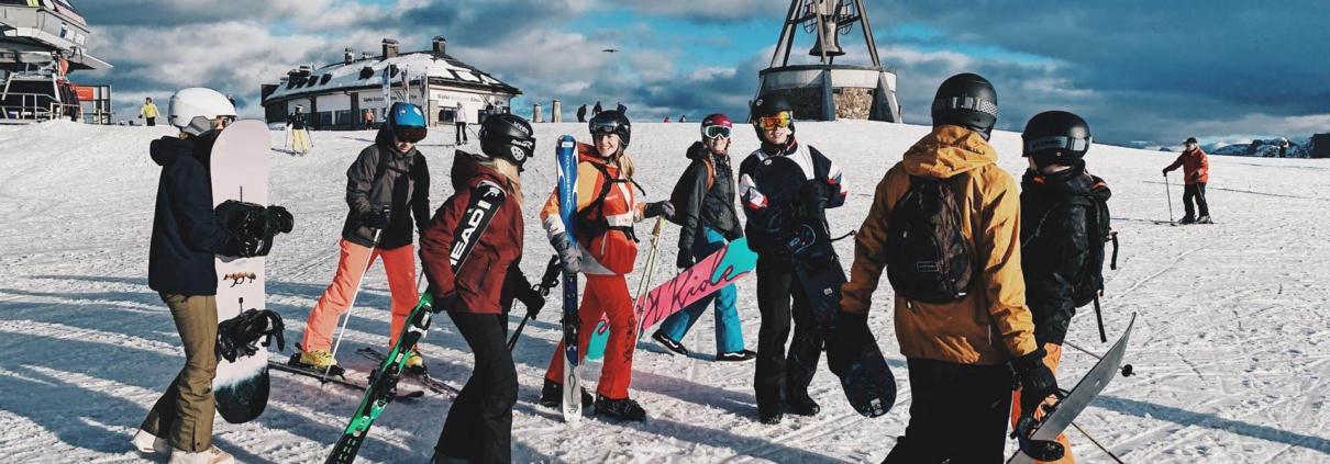 lesvrije week 2020 een succes studenten skivakantie